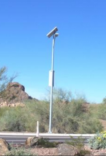 Desert Botanical Gardens Solar Streetlighting