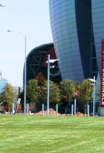 Cardinals Stadium Lot Lighting
